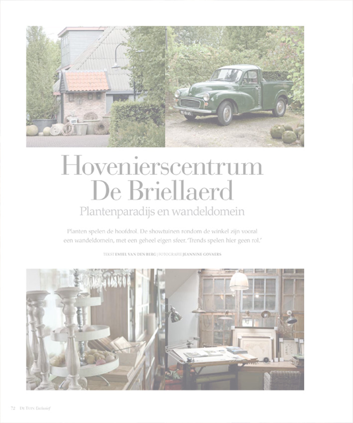 2. Publicaties Hovenierscentrum De Briellaerd Barneveld S